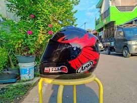 ARAI RX7X Basic Cargloss custom flat visor