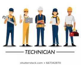Service engineer required for Mohali & Chandigarh