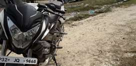 Urgent bike sale Bajaj in brand new condition with service records.
