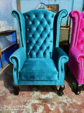 Blue wings chair with 5 years of warranty