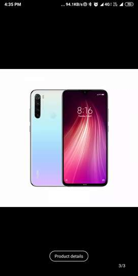 Xiaomi note 8 Moonlight White
