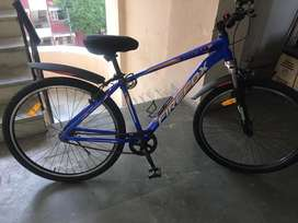 Firefox mountana without gear blue cycle