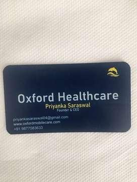 Job for registered nurses for home care  in delhi