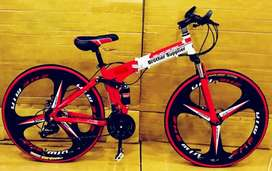 Foldable Bicycle Available With 21 Gears