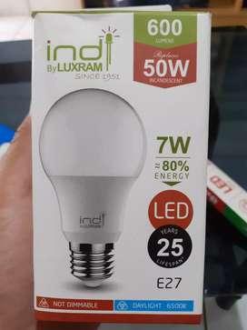 Lampu bulb indi LED