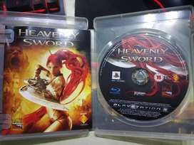 PS3 Heavenly Sword CD Game