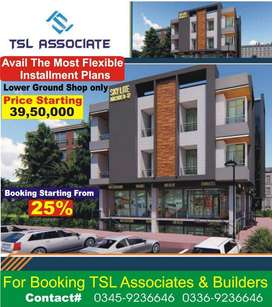 Shops for sale Skylite Arcade B-17 Multi Garden E Block Islamabad MDR