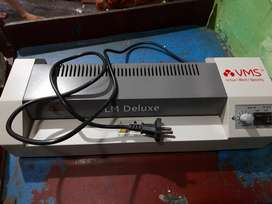 LM Deluxe Lamination machine