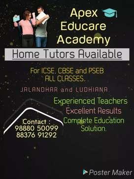 IELTS teachers and HOME tutors