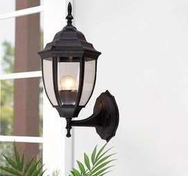 Lampu dinding tempel lampu pagar lampu pilar lampu taman klasik