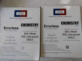 Errorless Chemistry for JEE Main And advance