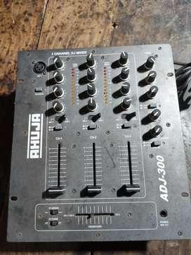 Ahuja adj300 dj mixer