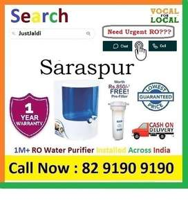 "Saraspur RO Water Filter Water Purifier Dolphin COD 9L  Click ""Follow"""