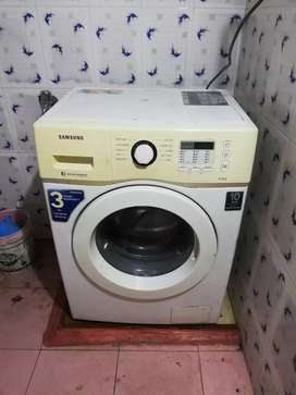 Samsung front load 6kg washing machine