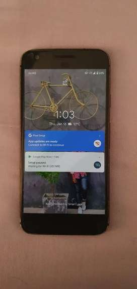 Goggle pixel. Good condition.  4/128gb.