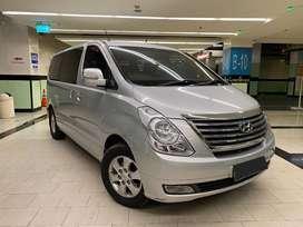Hyundai H1 TQ 2011 Diesel AT Silver on Beige Service Record Hyundai