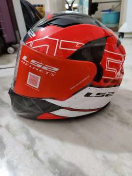 LS2 Stream Evo Helmet - Imported Red version (Size S) Lightly used