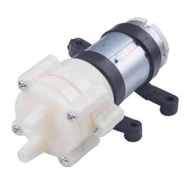 AyooDropship - Pompa Air Mini Aquarium Ikan Fish Tank 12V - White