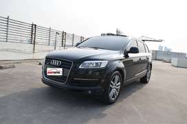 Audi Q7 TFSI 7 Seater Tahun 2006 / 2007 Matic Hitam Perfect