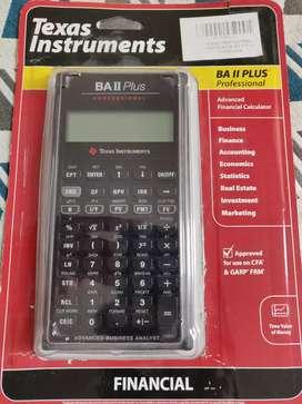 Texas BA II Plus Professional Financial Calculator