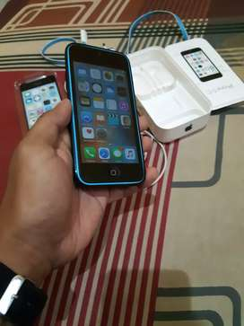 Iphone 5C Blue Fullset IBox