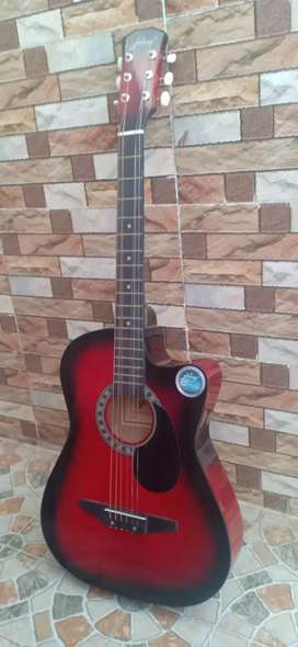 Superb red Guitar