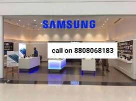 Samsung  showroom के लिए अतिशीघ्र भर्ती