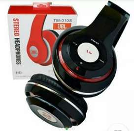 Headset bluetooth  JBL  ,mikro SD, RADIO FM ,AUX PORT, BASS QUALITY
