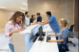 Front office Jobs  ( Receptionist) available