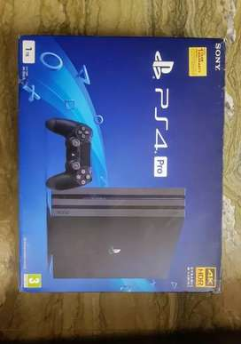 Ps4 pro with 1 controller and box all the wires good condition