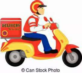 Required delivery boys for Chandni chowk