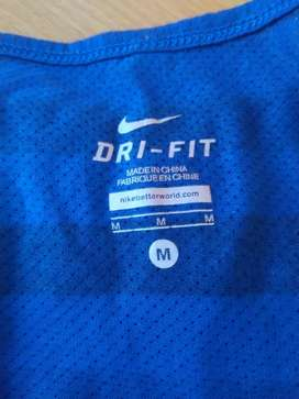 Dri Fit Nike Original 100%, Size M, Made in China (bukan Nike Indo)
