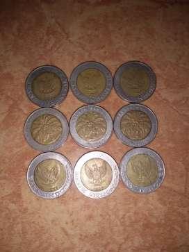 Uang Koin Seribu (1.000) Kepala Sawit Kuno