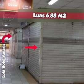 Disewakan toko thamrin city ladies market Jakarta pusat