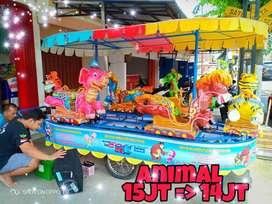 peluang usaha kereta panggung odong odong animal PROMO 11