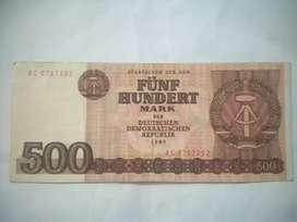 Uang Jerman lama asli thn 1985