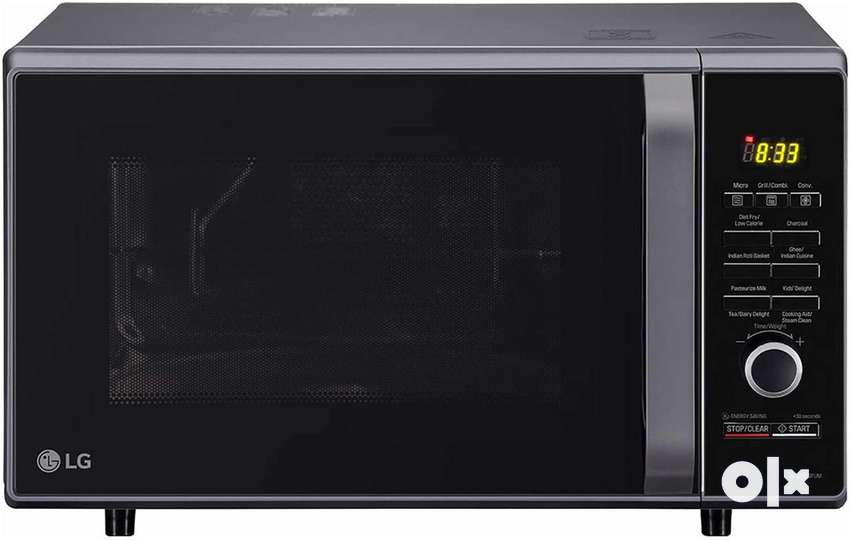 LG Charcoal 28L microwave with 2 years warranty