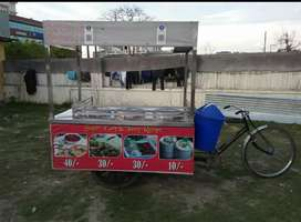 A food riksha urgent sell in good condition
