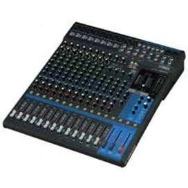 Mixer Yamaha mg 16 xu Rp 3,500,000