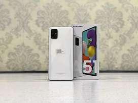 Bismillah Dijual SAMSUNG A51 6/128 White fullset like new bisa di TT