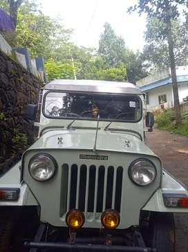 Mahindra major 2002' last model jeep 2wd