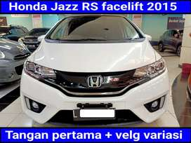 Honda Jazz RS 1.5 facelift Automatic /at 2015 sangat terawat