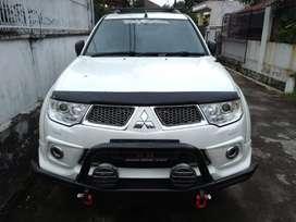 Pajero Sport Dakar Limited tahun 2013 Putih Plat D atas nama sendiri