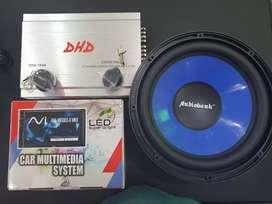 Paket Komplit Tv Mobil 7 Inci Plus Sound Mobil Bisa Di Kreditkan