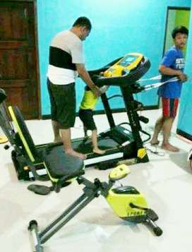 Jual treadmil #auto incline fuji ll AM