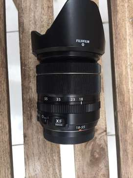 Lensa Fujifilm 18-55 f2,8-4 mantap
