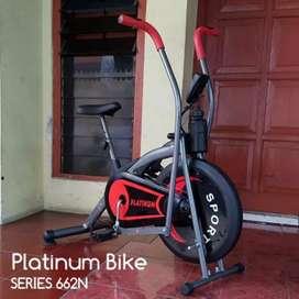 Best sepeda fitnes statis Platinum dua fungsi