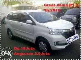 //Dp.19Jt/Daihatsu Xenia R1.3 Putih Th.2016 tt.avanza/calya