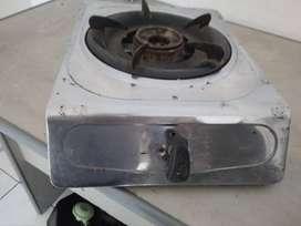 stenlis kompor 1 tungku cocok untuk warung /rumah tangga/anak kost  di