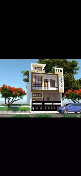 Luxury 6bhk villa with shop on prime location in mansarowar near swarn